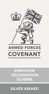 Employer Recognition Scheme - Silver Award - Armed Forces Covenant
